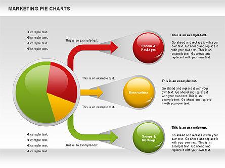 Marketing Pie Chart, Slide 10, 01097, Business Models — PoweredTemplate.com