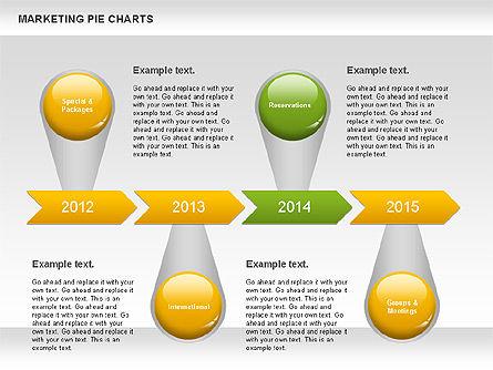 Marketing Pie Chart, Slide 11, 01097, Business Models — PoweredTemplate.com