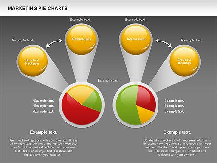 Marketing Pie Chart, Slide 12, 01097, Business Models — PoweredTemplate.com