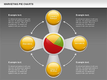 Marketing Pie Chart, Slide 13, 01097, Business Models — PoweredTemplate.com