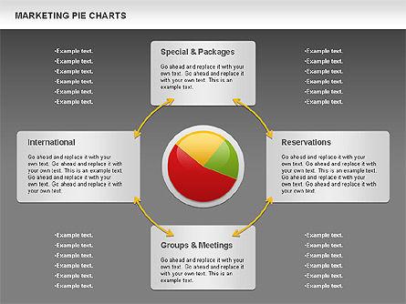 Marketing Pie Chart, Slide 14, 01097, Business Models — PoweredTemplate.com