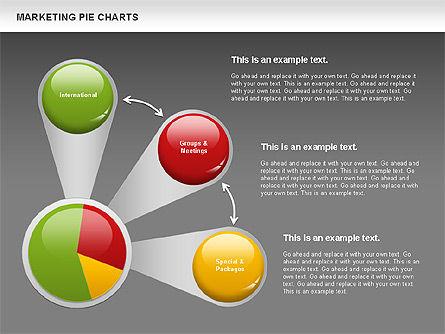 Marketing Pie Chart, Slide 15, 01097, Business Models — PoweredTemplate.com