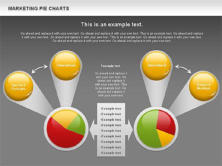 Marketing Pie Chart, Slide 16, 01097, Business Models — PoweredTemplate.com