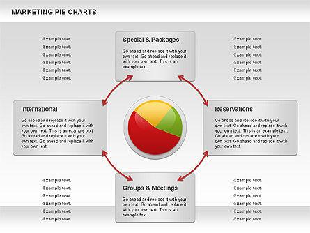 Marketing Pie Chart, Slide 3, 01097, Business Models — PoweredTemplate.com