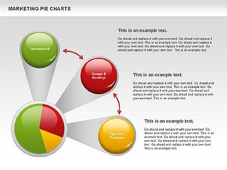 Marketing Pie Chart, Slide 4, 01097, Business Models — PoweredTemplate.com