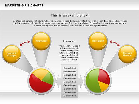 Marketing Pie Chart, Slide 5, 01097, Business Models — PoweredTemplate.com