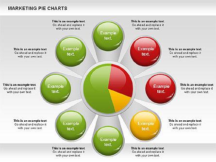 Marketing Pie Chart, Slide 7, 01097, Business Models — PoweredTemplate.com