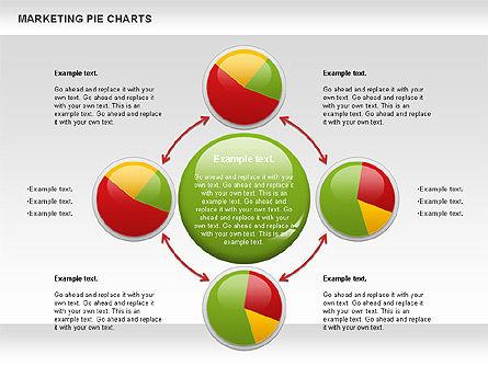 Marketing Pie Chart, Slide 8, 01097, Business Models — PoweredTemplate.com