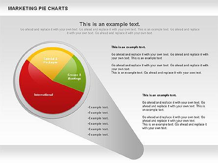 Marketing Pie Chart, Slide 9, 01097, Business Models — PoweredTemplate.com