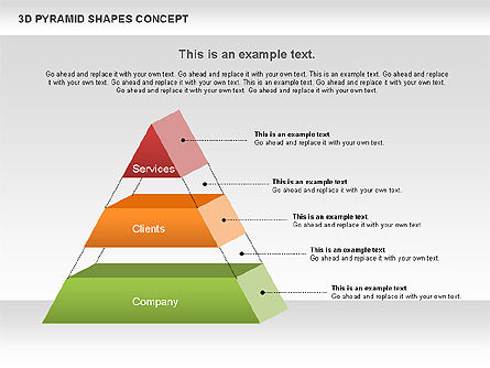 Business Models: 3D Pyramid Shapes #01098