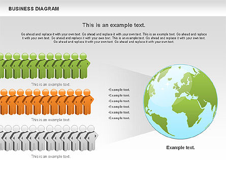 Presentation Templates: Demography Diagram #01101