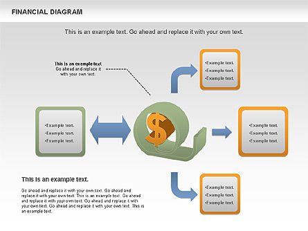Financial Management Diagram, 01102, Business Models — PoweredTemplate.com