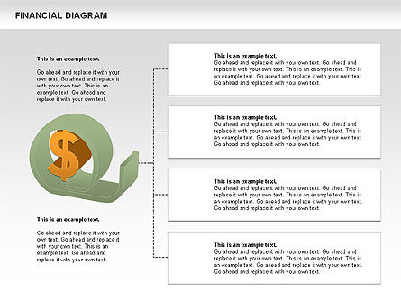 Financial Management Diagram, Slide 4, 01102, Business Models — PoweredTemplate.com