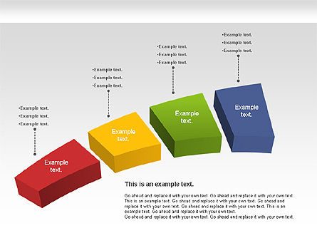 color stages diagram for powerpoint presentations download now