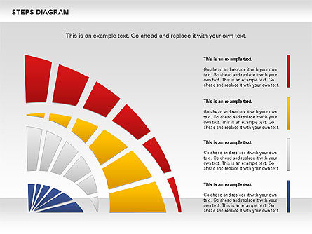Color Stages Diagram, Slide 4, 01103, Stage Diagrams — PoweredTemplate.com
