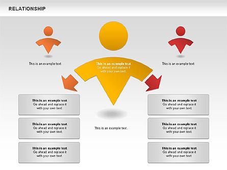 Relationship Diagram For Powerpoint Presentations Download Now