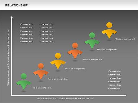 Relationship Diagram, Slide 16, 01104, Business Models — PoweredTemplate.com
