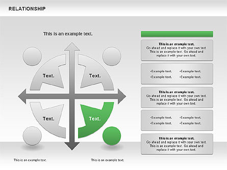 Relationship Diagram, Slide 5, 01104, Business Models — PoweredTemplate.com