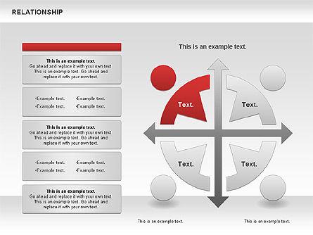 Relationship Diagram, Slide 7, 01104, Business Models — PoweredTemplate.com