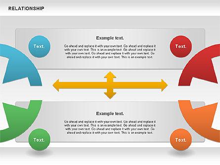 Relationship Diagram, Slide 8, 01104, Business Models — PoweredTemplate.com