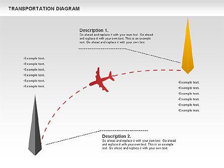 Airlift Diagram, Slide 3, 01105, Business Models — PoweredTemplate.com