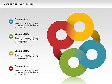 Overlapping Colors Diagram, Slide 10, 01106, Business Models — PoweredTemplate.com