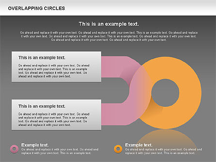 Overlapping Colors Diagram, Slide 12, 01106, Business Models — PoweredTemplate.com