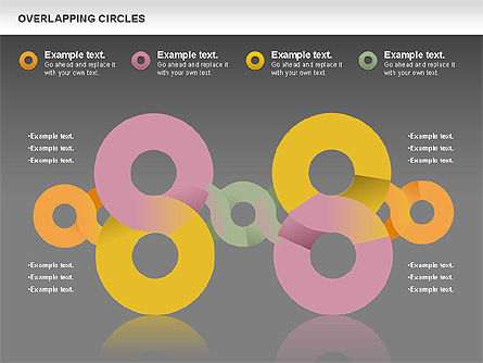 Overlapping Colors Diagram, Slide 13, 01106, Business Models — PoweredTemplate.com