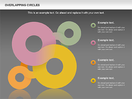 Overlapping Colors Diagram, Slide 15, 01106, Business Models — PoweredTemplate.com