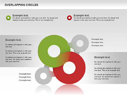 Overlapping Colors Diagram, Slide 2, 01106, Business Models — PoweredTemplate.com