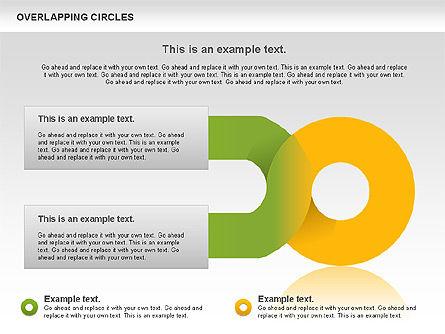 Overlapping Colors Diagram, Slide 3, 01106, Business Models — PoweredTemplate.com