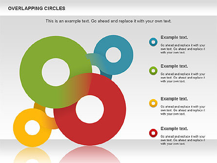 Overlapping Colors Diagram, Slide 5, 01106, Business Models — PoweredTemplate.com
