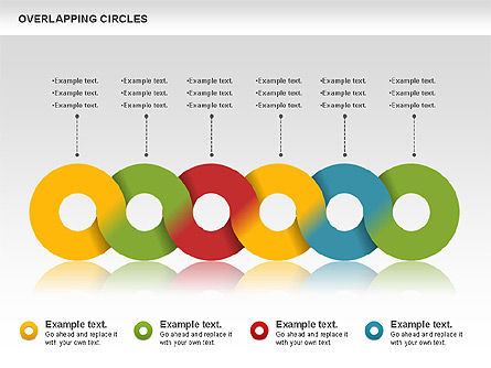 Overlapping Colors Diagram, Slide 7, 01106, Business Models — PoweredTemplate.com