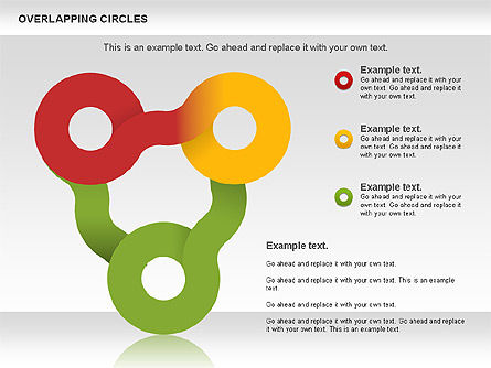 Overlapping Colors Diagram, Slide 8, 01106, Business Models — PoweredTemplate.com