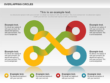 Overlapping Colors Diagram, Slide 9, 01106, Business Models — PoweredTemplate.com