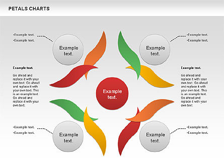 Leaves Diagram, Slide 10, 01113, Business Models — PoweredTemplate.com