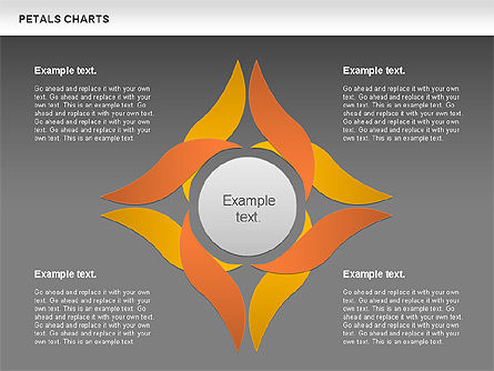 Leaves Diagram, Slide 13, 01113, Business Models — PoweredTemplate.com