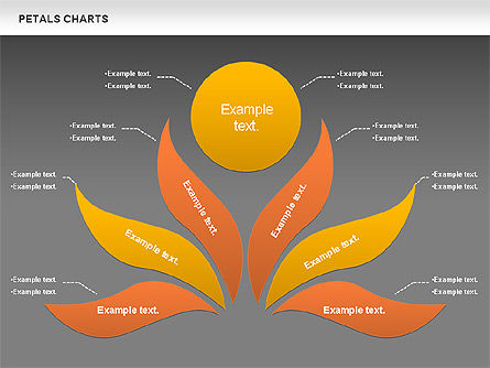 Leaves Diagram, Slide 16, 01113, Business Models — PoweredTemplate.com