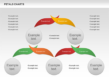 Leaves Diagram, Slide 2, 01113, Business Models — PoweredTemplate.com