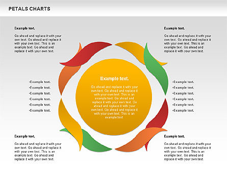 Leaves Diagram, Slide 8, 01113, Business Models — PoweredTemplate.com