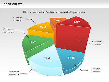 3d Pie Chart For Powerpoint Presentations Download Now 01114