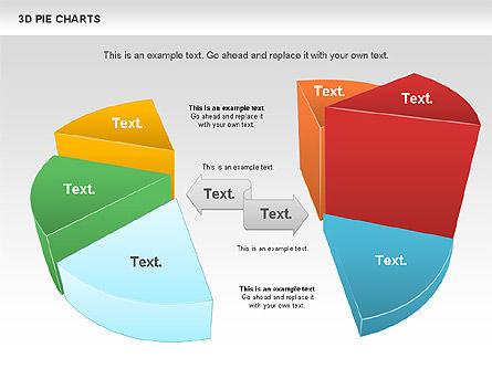3D Pie Chart, Slide 2, 01114, Pie Charts — PoweredTemplate.com
