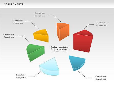 3D Pie Chart, Slide 4, 01114, Pie Charts — PoweredTemplate.com