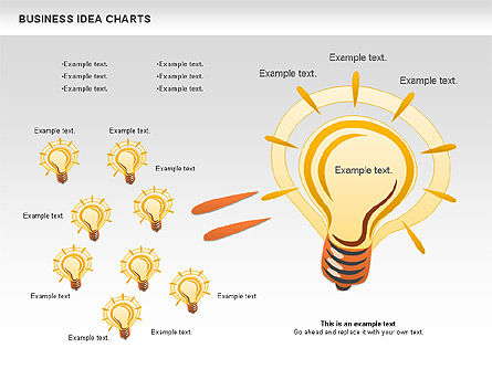 Business Models: Business Idea Diagram #01115