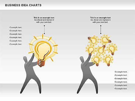 Business Idea Diagram, Slide 10, 01115, Business Models — PoweredTemplate.com