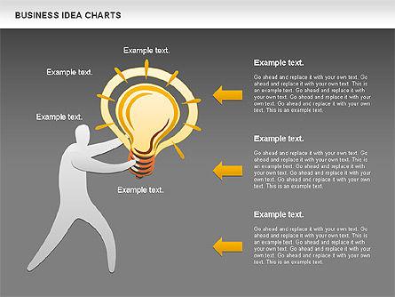 Business Idea Diagram, Slide 14, 01115, Business Models — PoweredTemplate.com