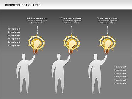 Business Idea Diagram, Slide 16, 01115, Business Models — PoweredTemplate.com