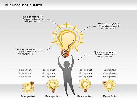 Business Idea Diagram, Slide 2, 01115, Business Models — PoweredTemplate.com