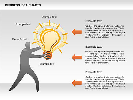 Business Idea Diagram, Slide 3, 01115, Business Models — PoweredTemplate.com