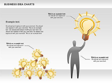 Business Idea Diagram, Slide 4, 01115, Business Models — PoweredTemplate.com